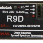 RadioLink DSSS AT9-R9D 2.4GHz 9CH Receiver