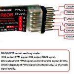 RadioLink R6DS 2.4G 6CH DSSS FHSS Receiver